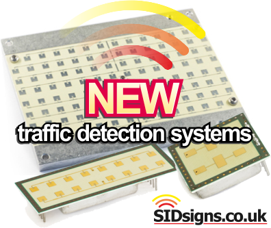 speed sign traffic detection device